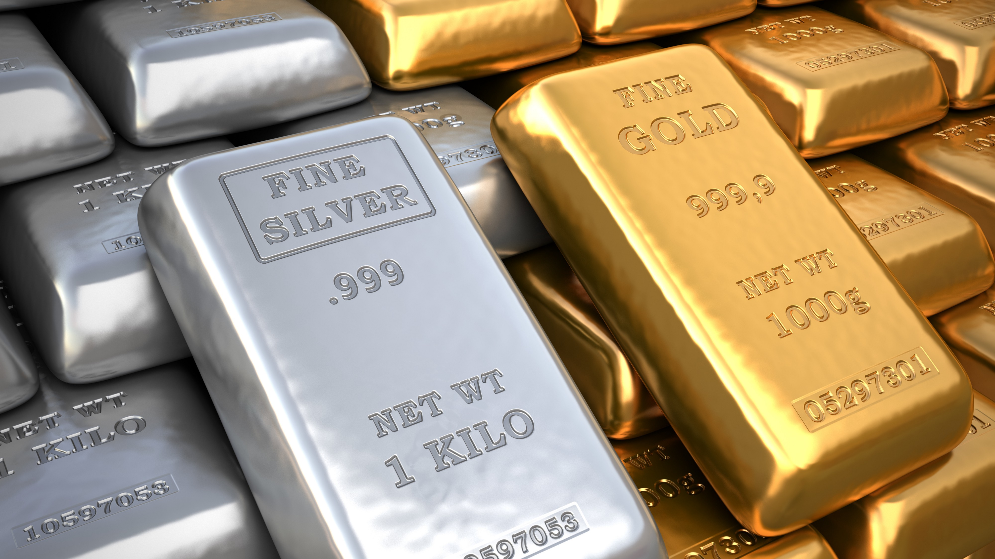 Gold, silver prices see safe-haven demand on global economic worries